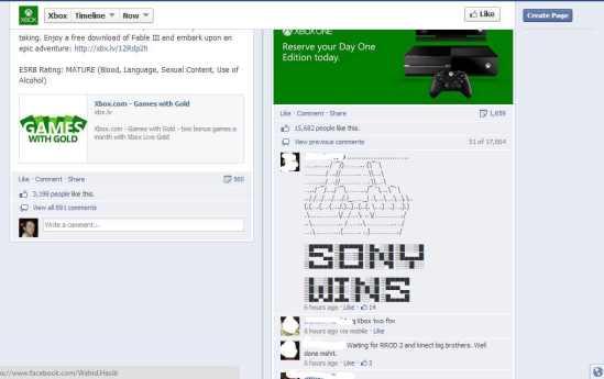 Sony wins